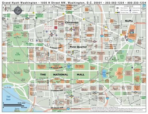 printable walking map  washington dc printable  degree