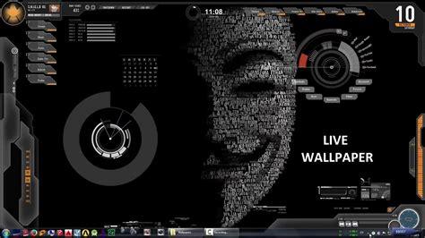 desktop alive   wallpaper rainmeter