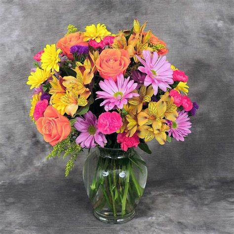 Flower Vase - bright vase 388 kremp