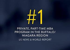 Canisius' Flexible MBA Program Ranked Among Best in Nation ...
