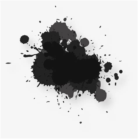 Abstract Black Color Splash by Abstract Black Splash Splash Clipart Abstract Black Png