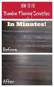How to fix bamboo flooring scratches in minutes you for How to get scratches out of bamboo floors