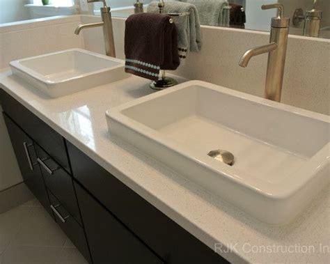Silestone Vanity Top blanco maple silestone vanity top bathroom by rjk