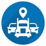 Tracking Icon Fleet Asset Clipart Vehicle Gps
