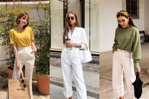 7 Warna Baju yang Cocok Dipadukan dengan Celana Putih Agar ...
