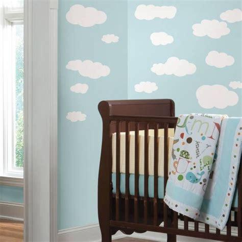 leuke wolken muurstickers kies je eigen kleur