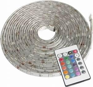 Led Streifen Farbwechsel : m ller licht led strip farbwechsel 57003 led streifen komplettset mit stecker 12 v 500 cm rgb kaufen ~ Orissabook.com Haus und Dekorationen