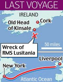 secret of the lusitania arms find challenges allied