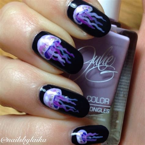 purple nail designs tumblr