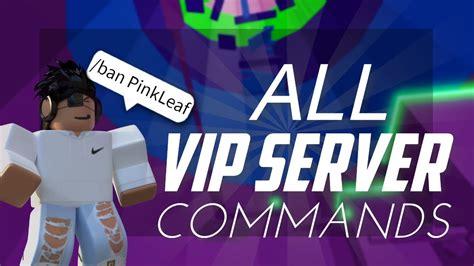 working vip server commands ban unlocketc