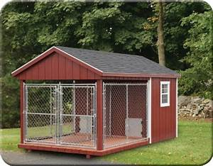 Dog kennels stoltzfus outdoor living easton for Dog run outdoor kennel house