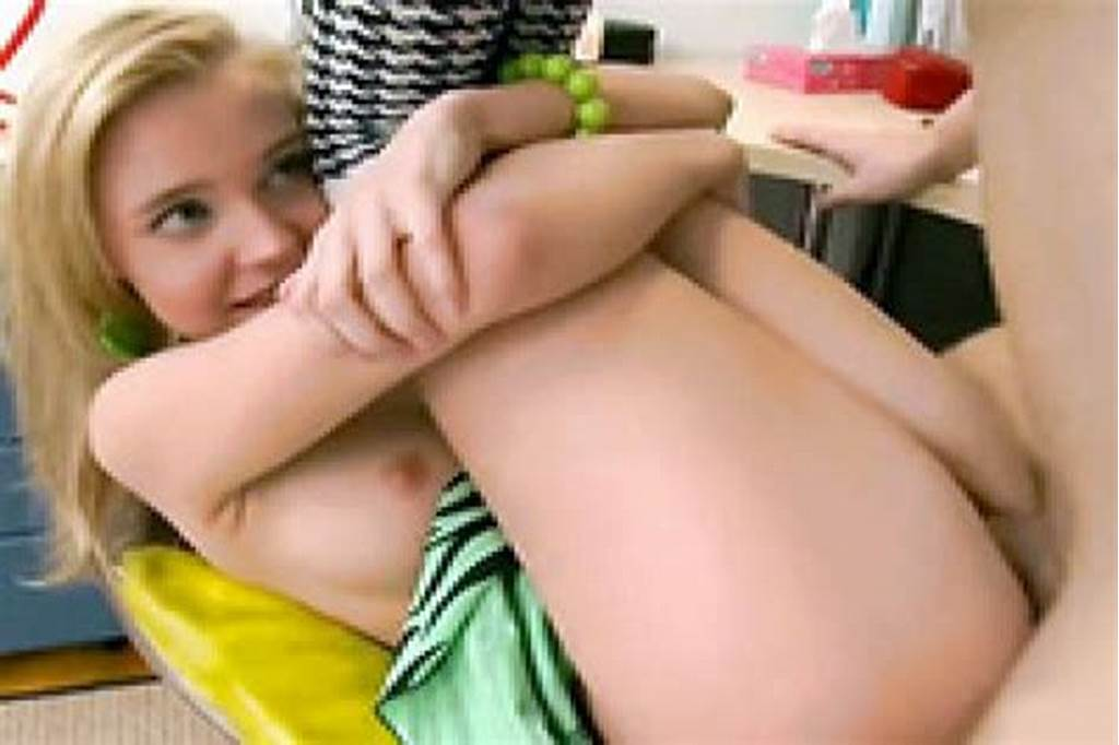 #Pretty #Blonde #Teen #Gets #Fucked #Hard #By #Her #Classmate