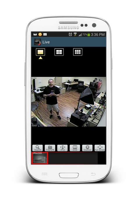 mobile app for android android cctv app live view