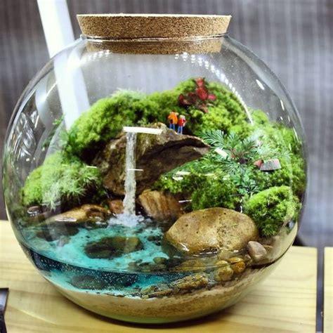 40 แบบจัดสวนในขวดแก้ว Terrarium สวยงาม แต่งบ้านได้ ...