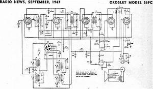 Crosley Model 56fc  September 1947 Radio News