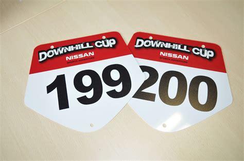 plaque de cadre de vtt european downhill cup smtk imprimeur num 233 rique grand format en savoie