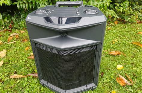 outdoor bluetooth lautsprecher lg outdoor bluetooth lautsprecher fj3 mono hobby test de