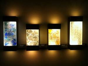 Wall art with led lights the of future warisan