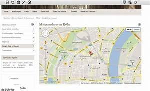 Google Maps Köln : google map einbauen ~ Watch28wear.com Haus und Dekorationen