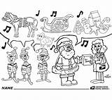 Usps Coloring Pages Holiday Postal Santa Link Truck Shows Employee Claus Template Delivering Package Which sketch template