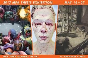 2017 MFA Thesis Exhibition – New York Academy of Art