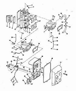 Evinrude Intake Manifold Parts For 1976 115hp 115699g