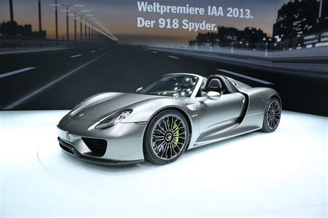 How Much Is A Porsche 918 Spyder Concept Porsche 918