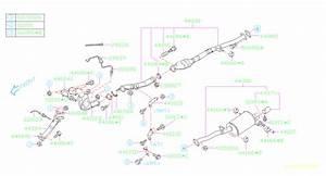 2002 Subaru Wrx Exhaust Gas Temperature  Egt  Sensor