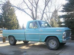 1967 Ford F250 Camper Special All Orginal Numbers Matching