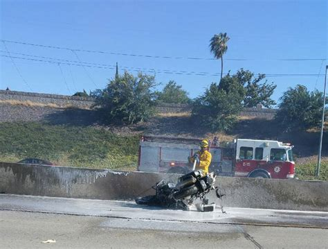 Chp Motorcycle Officer Injured In Vehicle Collision, On