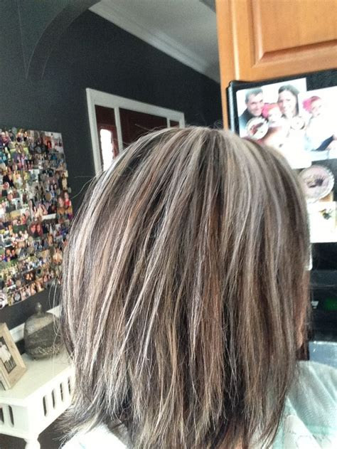 To Brown Turned Grey by 25 Best Ideas About Frosted Hair On