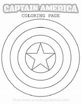 Shield Captain America Coloring Printable Superhero Pages Party Drawing Line Logos Avengers Template Capt Makingofamom Own Sheild Colouring Sketch Getdrawings sketch template
