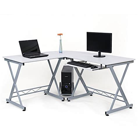 large corner computer desk songmics large corner computer desk workstation home