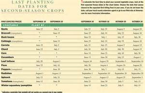 fall garden what to plant for the fall planting dates