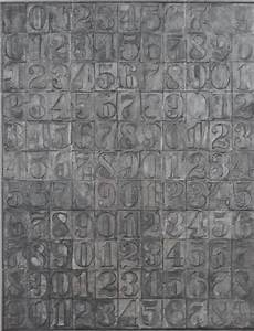 Mathematical Objects - Jasper Johns' number works