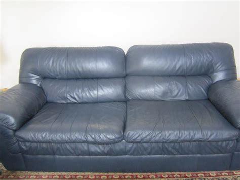 red leather sofa lazy boy lazy boy blue leather sofa west carleton ottawa