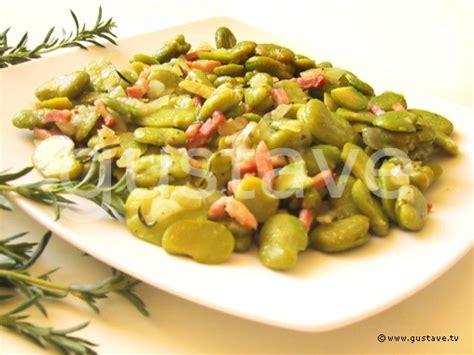 cuisiner des blettes fraiches fèves fraîches aux lardons et à la sarriette la recette