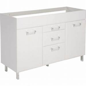 meuble sous evier brico home inspirations avec With meuble cuisine 120 cm