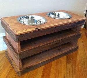 52 best images about pallet furniture on pinterest With dog bowl furniture