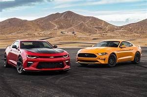 2018 Chevrolet Camaro SS 1LE vs. 2018 Ford Mustang GT Performance Pack - MotorTrend