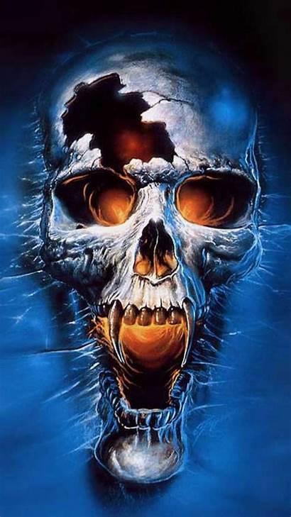 Skull 3d Iphone