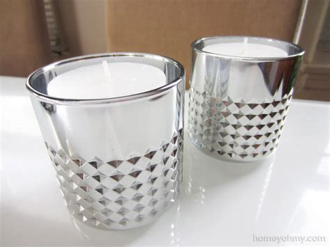 mercury glass candle holders diy mercury glass votive candle holders homey oh my
