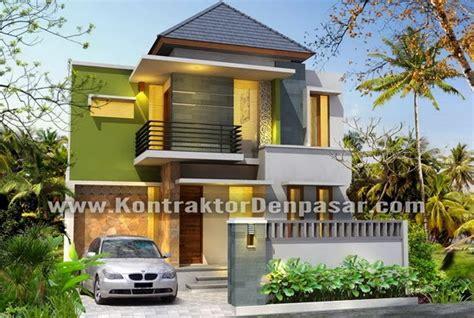 kontraktor rumah  denpasar desain rumah  lantai