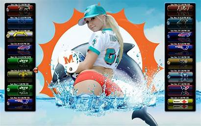 Dolphins Miami Wallpapers Schedule Phone Backgrounds 2009