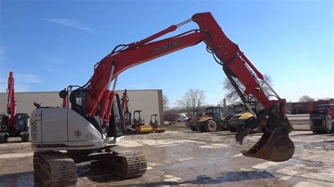 excavator  sale  link belt  spin ace walkaround youtube