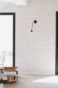 Brique De Parement Blanche : parement brique blanche inspirations avec mur brique ~ Dailycaller-alerts.com Idées de Décoration