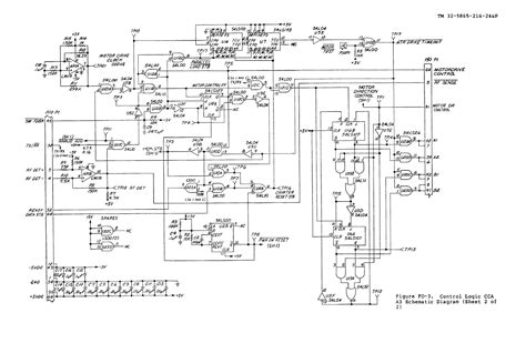 Figure Control Logic Cca Schematic Diagram Sheet