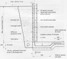 Design Of Basement Retaining Wall by Retaining Wall Design Amusing Concrete Retaining Walls