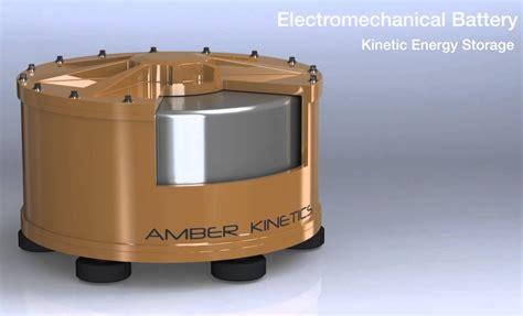 VIDEO: Amber Kinetics signs flywheel energy storage ...