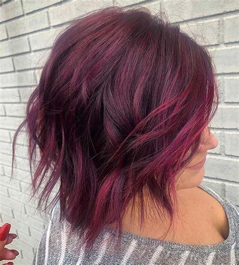 burgundy hair color ideas  styles   stayglam
